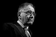 Rocco Buttiglione durante il congresso nazionale dell' Udc (Unione di Centro) all'Auditorium Conciliazione. Rome, 21 febbraio 2014. Christian Mantuano / OneShot