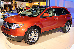08 February 2007: 2007 Ford Edge Sport Utility Vehicle.The Chicago Auto Show is a charity event of the Chicago Automobile Trade Association (CATA) and is held annually at McCormick Place in Chicago Illinois.