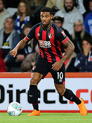 Bournemouth's Jordon Ibe during third round Carabao Cup match at the Vitality Stadium, Bournemouth.