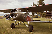 Stearman Model 4 Jr. Speedmail at Hood River Fly-In.