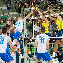 20150909: SLO, Volleyball - Friendly game, Slovenia vs Brasil
