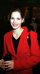 Ballerina DARCEY BUSSELL at an award ceremony in London on 9th December 1999.MZX 40