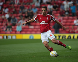 Nottingham Forest's Chris Cohen  - Photo mandatory by-line: Nigel Pitts-Drake/JMP - Tel: Mobile: 07966 386802 25/08/2013 - SPORT - FOOTBALL -Vicarage Road Stadium - Watford -  Watford v Nottingham Forest - Sky Bet Championship