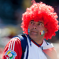 15 March 2009: A fan of Cuba is seen during the 2009 World Baseball Classic Pool 1 game 1 at Petco Park in San Diego, California, USA. Japan wins 6-0 over Cuba.