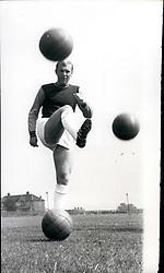 Aug. 08, 1966 - West Ham Start Training. Photo Shows:- Unusual study, as England captain, Bobby Moore gets down to training with West Ham F.C., at Chadwell Heath. the new season starts on Saturday, August 20th. (Credit Image: © Keystone Press Agency/Keystone USA via ZUMAPRESS.com)