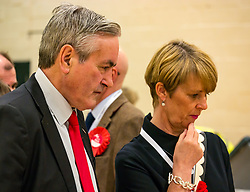 Haddington & Lammermuir by-election count. Haddington, East Lothian, Scotland, United Kingdom, 10 May 2019. Pictured:   Iain Gray, Scottish Labour MSP. The election takes place of one councillor in Ward 5 of East Lothian Council due to the resignation of Councillor Brian Small. The successful candidate represents this ward along with the three existing councillors. The by-election uses the Single Transferable Vote (STV) system in which voters can rank candidates in order of preference and can choose to vote for as many or as few candidates as they like. The election fields 5 candidates from Scottish National Party (SNP), Scottish Labour Party, Scottish Conservatives and Unionist Party, Scottish Liberal Democrats and UK Independence Party (UKIP).<br /> <br /> Sally Anderson | EdinburghElitemedia.co.uk