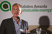 Host, Martin Wright, editor in chief, Green Futures, Forumm for the Future. Local solutions to climate change. The Ashden Awards Imperial College Conference, Royal Geographical Society, London.
