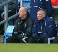 Photo: Dave Linney.<br />Aston Villa v Port Vale. The FA Cup. 28/01/2006. Port Vale Martin Foyle