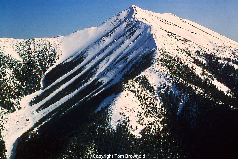 Mount Humphreys and Abeneau chutes