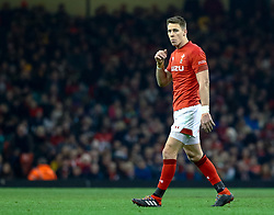 Liam Williams of Wales<br /> <br /> Photographer Simon King/Replay Images<br /> <br /> Under Armour Series - Wales v South Africa - Saturday 24th November 2018 - Principality Stadium - Cardiff<br /> <br /> World Copyright © Replay Images . All rights reserved. info@replayimages.co.uk - http://replayimages.co.uk