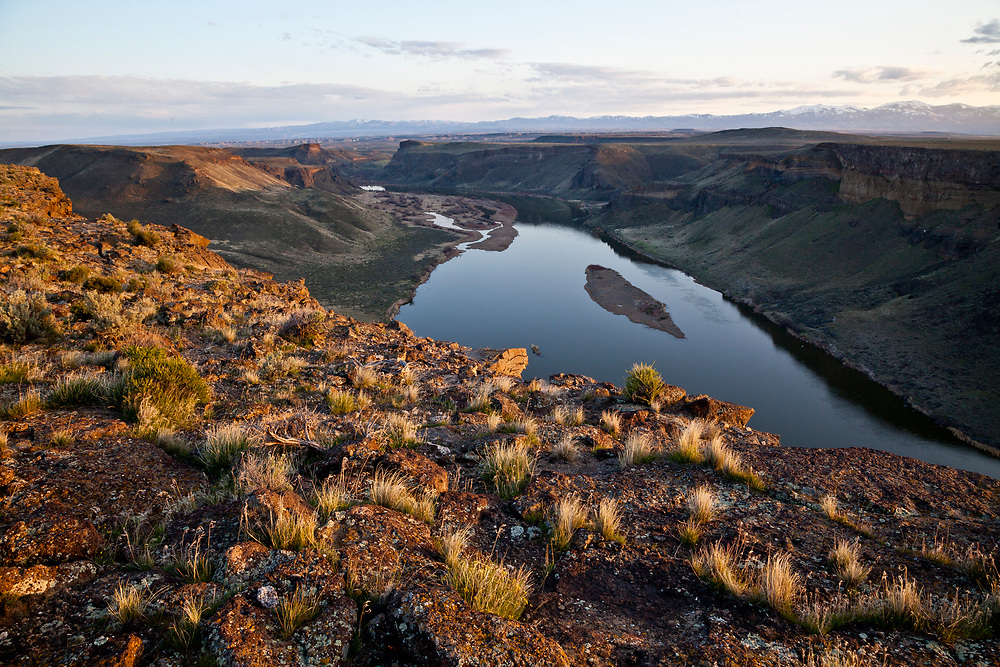 Open Edition Prints <br /> Snake River in South West Idaho just above Swan Falls