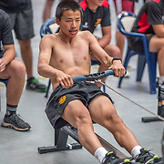 500mtr Race #16  01.00pm<br /> <br /> www.rowingcelebration.com Competing on Concept 2 ergometers at the 2018 NZ Indoor Rowing Championships. Avanti Drome, Cambridge,  Saturday 24 November 2018 © Copyright photo Steve McArthur / @RowingCelebration