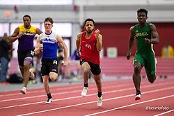 Harvard University<br /> Crimson Elite Indoor track & field meet<br /> mens 60m qualifying,