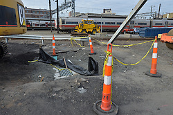 New Haven Rail Yard, Independent Wheel True Facility. CT-DOT Project # 0300-0139, New Haven CT. Progress Photograph of Construction Progress Photo Shoot 8 on 14 February 2012