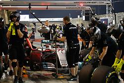 April 14, 2017 - Sakhir, Bahrain - Motorsports: FIA Formula One World Championship 2017, Grand Prix of Bahrain, .#77 Valtteri Bottas (FIN, Mercedes AMG Petronas) (Credit Image: © Hoch Zwei via ZUMA Wire)