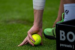 10-06-2019 NED: Libema Open, Rosmalen<br /> Grass Court Tennis Championships / Ball, tennis item