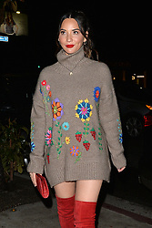 Olivia Munn Attends an Animal Rescue Charity Event in West Hollywood. 06 Dec 2018 Pictured: Olivia Munn. Photo credit: MEGA TheMegaAgency.com +1 888 505 6342