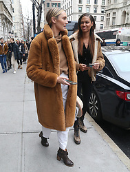 Candice Swanepoel and Joan Smalls at the Ralph Lauren show in New York. 07 Feb 2019 Pictured: Candice Swanepoel, Joan Smalls. Photo credit: MEGA TheMegaAgency.com +1 888 505 6342