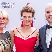NLD/Amsterdam/20170924 - Première Was Getekend, Annie M.G. Schmidt, Sheila de Vries, Anouk van Nes en .........