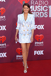 2019 IHeartRadio Music Awards - Arrivals. 14 Mar 2019 Pictured: Hilary Roberts. Photo credit: @JenLoweryPhoto / MEGA TheMegaAgency.com +1 888 505 6342