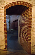 Detail of Fort Point interior, San Francisco
