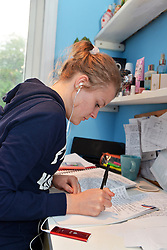 Teenager studying model released