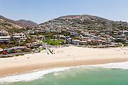 Laguna Beach Coastline at Emerald Bay Aerial Photo