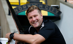 Charlton Athletic manager Karl Robinson prior to the match