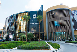 Exterior of Dubai Mall Fashion Avenue , Downtown Dubai, United Arab Emirates