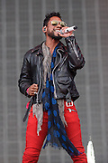 WASHINGTON, DC - September 26th, 2015 - Miguel performs at the 2015 Landmark Festival in Washington, D.C.  (Photo by Kyle Gustafson / For The Washington Post)