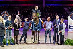 Greve Willem, NED, Grandorado TN<br /> KWPN hengstenkeuring - 's Hertogenbosch 2020<br /> © Hippo Foto - Dirk Caremans<br />  30/01/2020