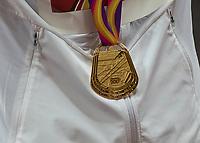 Athletics - 2017 IAAF London World Athletics Championships - Day One<br /> <br /> Event: Men's 10000 Metre Final<br /> <br /> Mo Farah (GBR)  gold Medal<br /> <br /> COLORSPORT/DANIEL BEARHAM