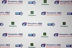 CYCLISME : Presentation Equipe Groupama FDJ - Paris - 31 January 2018