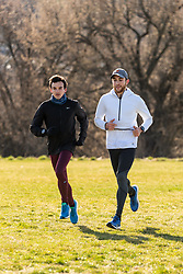 Reebok Boston Track Club<br /> home base training<br /> Flanagan, Rogers