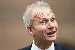 © Licensed to London News Pictures. 04/10/2017. Manchester, UK. David Lidington MP<br /> Lord Chancellor and Secretary of State for Justice at Conservative Party Conference. The four day event is expected to focus heavily on Brexit, with the British prime minister hoping to dampen rumours of a leadership challenge. Photo credit: Ben Cawthra/LNP