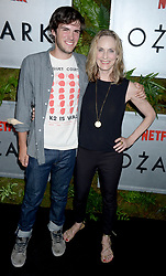 Actress Lisa Emery with son Zane Pais attending the Netflix Original Ozark screening at The Metrograph on July 20, 2017 in New York City, NY, USA. Photo by Dennis Van Tine/ABACAPRESS.COM