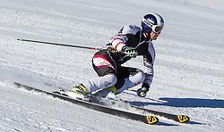 04.10.2014, Rettenbach Ferner, Soelden, AUT, OeSV, Gletschertraining, im Bild Patrick Schweiger (AUT) // Patrick Schweiger of Austria during a practice session of Austrian Ski Federation at the Rettenbachferner, Austria on 2014/10/04. EXPA Pictures © 2014, PhotoCredit: EXPA/ JFK
