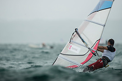 31.07.2012, Bucht von Weymouth, GBR, Olympia 2012, Windsurfen, im Bild RS:X Men, Polishchuk Dmitry (RUS) . EXPA Pictures © 2012, PhotoCredit: EXPA/ Juerg Kaufmann ***** ATTENTION for AUT, CRO, GER, FIN, NOR, NED, POL, SLO and SWE ONLY!