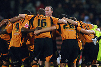 Fotball<br /> England<br /> Foto: Colorsport/Digitalsport<br /> NORWAY ONLY<br /> <br /> Jody Craddock (Wolves) gives the pre match team talk. Crystal Palace v Wolverhampton Wanderers  03/03/2009