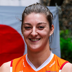 13-10-2018 JPN: World Championship Volleyball Women day 14, Nagoya<br /> Portraits Dutch Volleybal Team - Anne Buijs #11 of Netherlands