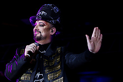 Concert at at the Pompano Beach. 01 Jul 2018 Pictured: Boy George. Photo credit: MPI04/Capital Pictures / MEGA TheMegaAgency.com +1 888 505 6342