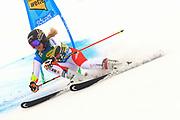SOELDEN, AUSTRIA. OCTOBER 17 2020:  1st Women's Giant Slalom as part of the Alpine Ski World Cup in Solden on October 17, 2020; Run 1, Lara Gut-Behrami (SUI) ( Pierre Teyssot/ESPA Images-Image of Sport)