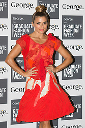 © Licensed to London News Pictures. 03/06/2014. London, England. Zoe Hardman. Celebrity arrivals for the Awards Show at Graduate Fashion Week 2014, Old Truman Brewery in London, United Kingdom. Photo credit: Bettina Strenske/LNP