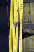 measuring tube on wooden vat ferreira port lodge vila nova de gaia porto portugal