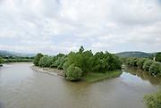 Georgia, The Kura (Mtkvari) river