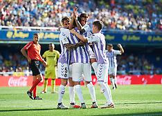 Villarreal CF v Real Valladolid CF - 30 Sept 2018