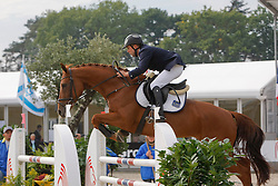 Willems Marcel - Donna Fortuna<br /> World Championship Young Horses Lanaken 2008<br /> Photo Copyright Hippo Foto