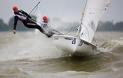 08_004063 © Sander van der Borch. Medemblik - The Netherlands,  May 25th 2008 . Final day of the Delta Lloyd Regatta 2008.