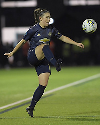 February 20, 2019 - Sheffield, United Kingdom - Kirsty Hanson (Manchester United) shows ball control during the  FA Women's Championship football match between Sheffield United Women and Manchester United Women at the Olympic Legacy Stadium, on February 20th Sheffield, England. (Credit Image: © Action Foto Sport/NurPhoto via ZUMA Press)