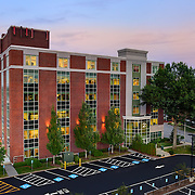 2 Pillsbury St., Concord, NH (commercial office building). Twilight marketing image done for the owner.